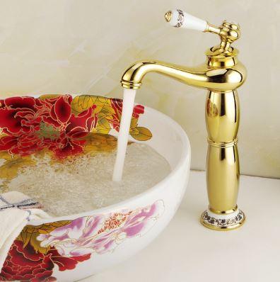 Смеситель кран для ванной комнаты однорычажный 0386