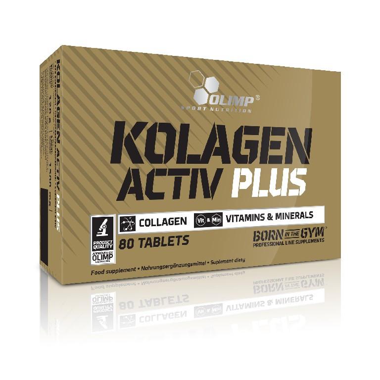 Olimp Kolagen Activ Plus Sport Edition 80 таб