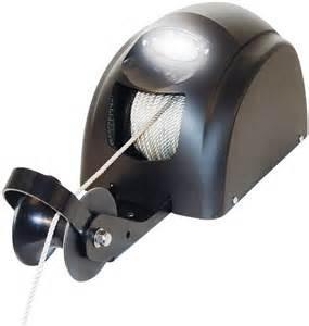 Лебедка для лодки якорная электро Powerwinch 25 свободного падения США