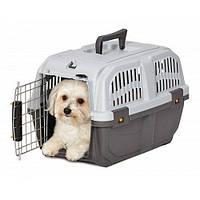 Переноска MPS SKUDO-1 IATA GREY для собак и кошек 48х31.5х31см, до 12кг