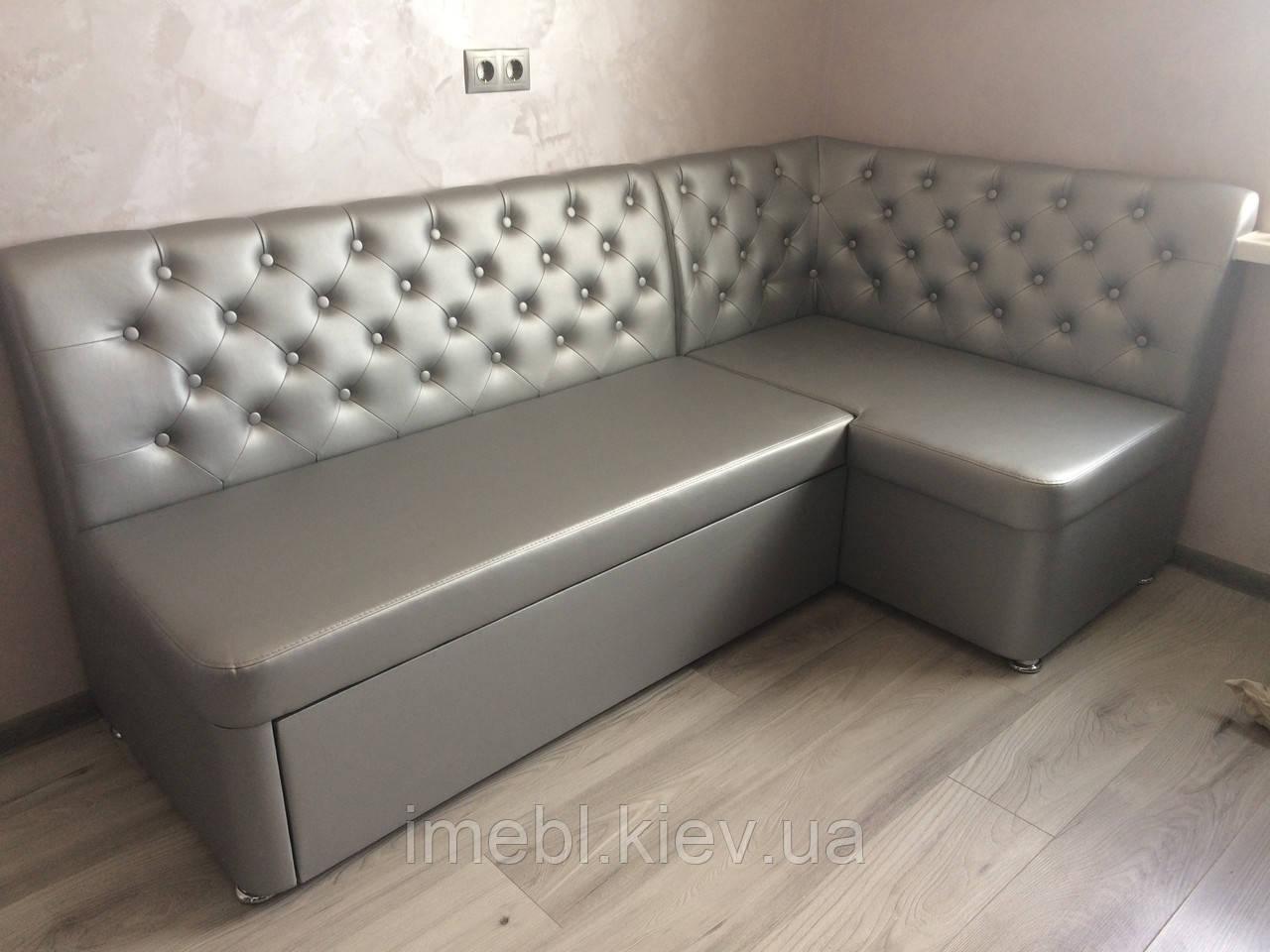 мягкая мебель со спальным местом в кухню серебро на заказ размеры