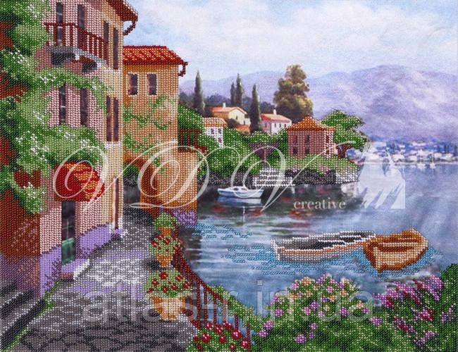 """Схема для частичной вышивки бисером """"Сицилия"""""""
