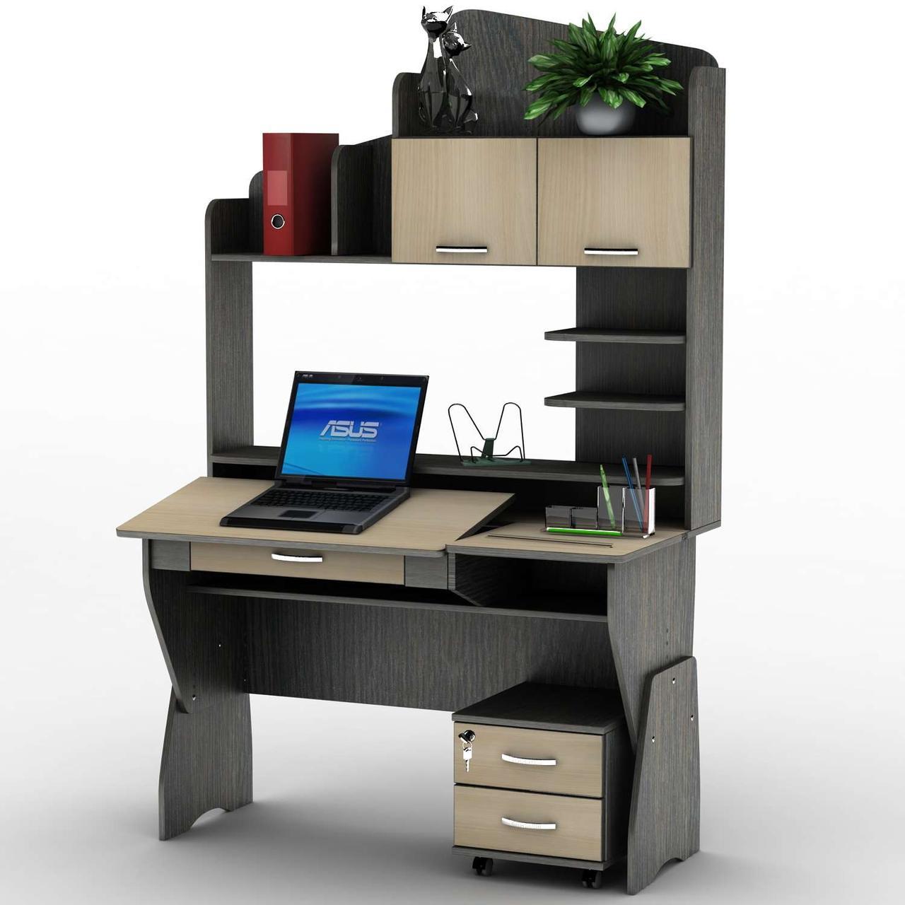 Комп'ютерний стіл СУ-25 Профі Тіса меблі