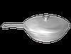 Сковорода с ручкой и крышкой, диаметр 300