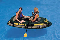 Двухместная надувная лодка Intex 68346 236х114x41см /04