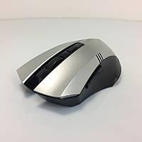 Мышь беспроводная, USB, TRY MOUSE KITE, 3200 dpi, серая с черными вставками