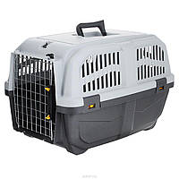 Переноска MPS SKUDO-4 IATA GREY для собак и кошек 68*48*51см, до 30кг