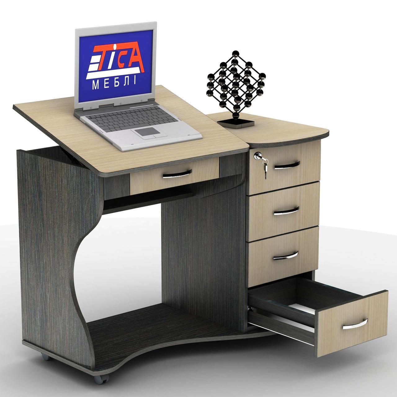 Комп'ютерний стіл СУ-6К Тіса меблі