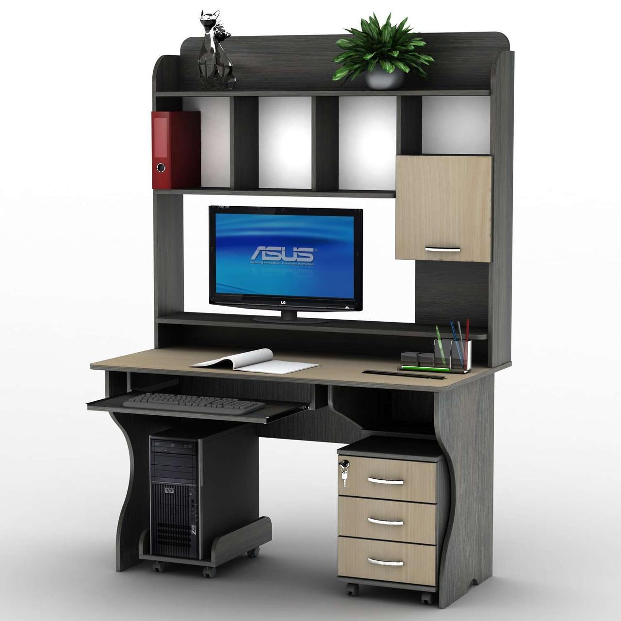 Комп'ютерний стіл СУ-10 Тіса меблі