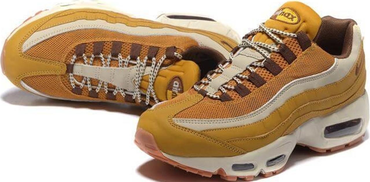 22212014 Кроссовки найк мужские Nike Air Max 95 PRM Wheat/Cream от магазина  tehnolyuks.prom