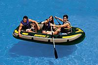 """Надувная лодка """"Seahawk 3"""" Intex 68349 /76-76"""