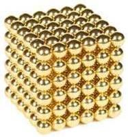 Неокуб ( Neocube) 216 магнитных шариков GOLD