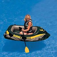 """Надувная лодка """"Seahawk 1"""" Intex 68345 /43-52"""