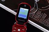 Телефон машинка, кнопочный телефон Ferrari (Newmind F15) цвет красный, фото 3