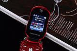 Телефон машинка, кнопочный телефон Ferrari (Newmind F15) цвет красный, фото 4
