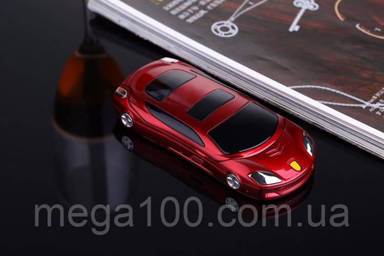 Телефон машинка, кнопочный телефон Ferrari (Newmind F15) цвет красный