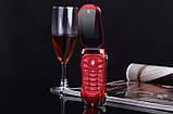 Телефон машинка, кнопочный телефон Ferrari (Newmind F15) цвет красный, фото 2