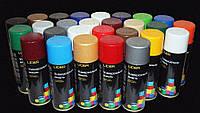 Краска универсальная LIDER эмаль в аэрозоле все цвета 400г