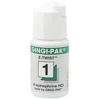 Нить ретракционная Gingi-pak (зеленая, эпинефрин) №1