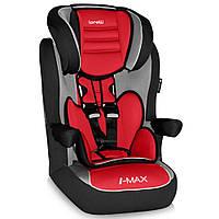Детское автокресло  I-MAX SP ISOFIX (от 9 до 36 кг) - Bertoni - Болгария - улучшенная боковая защита agora carmin