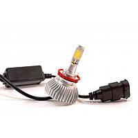 Лампы светодиодные LedHeadLamp F8 H11 chip COB радиатор (упаковка 2шт)