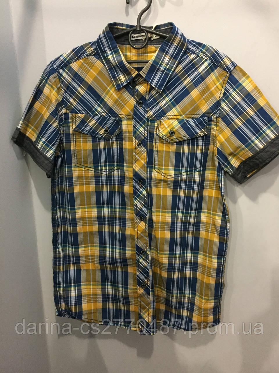 Рубашка в клетку на мальчика подростка