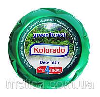 Гелевый освежитель воздуха Kolorado Deo-fresh Green forest Зеленый лес - 150 г.