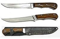 Нож Спутник 4, сталь 40х13, рукоять из дуба, надежный помощник на природе
