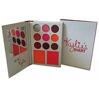 Палетка теней и румян Kylie Diary