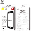 Стекло Baseus Silk-screen 3D Arc Protective Film For iPhone6 Plus Black