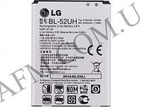 АКБ оригинал LG BL- 52UH D280 (L65)/  D285/  D320 (L70)/  D321/  D325/  H422 Spirit/  MS323