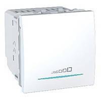 Светорегулятор нажимной универсальный 350ВА Schneider Electric Unica Белый (MGU3.515.18)