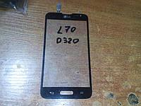 Сенсор  LG D320 D321 MS323 Optimus L70 Black orig