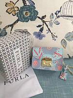 Женская мини-сумочка Furla Metropolis натуральная кожа