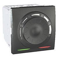 Термостат кондиционирование и отопление (8А/+5...30°С) Schneider Electric Unica Графит (MGU3.501.12)