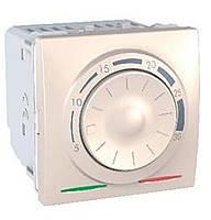 Термостат кондиционирование и отопление (8А/+5...30°С) Schneider Electric Unica Слоновая Кость (MGU3.501.25)