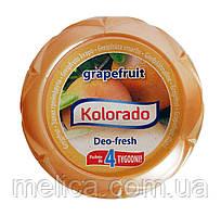 Гелевый освежитель воздуха Kolorado Deo-fresh Grapefruit Запах грейпфрута - 150 г.