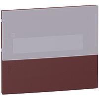 """Передняя панель Mini Pragma 12М встраиваемая """"дымчатая дверь"""" Schneider Electric (MIP50112T)"""