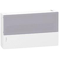 """Щит Mini Pragma 18 модулей навесной """"прозрачная дверь"""" Schneider Electric (MIP12118S)"""