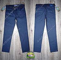 Брюки-джинсы для мальчика коттоновые синие