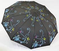 "Женский зонт полуавтомат на 10 спиц от фирмы ""Feeling Rain"""