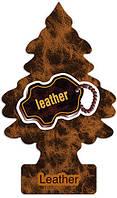 Елочка Little Trees®, аромат натуральная кожа