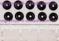 Прокладки штоков 2 мм (сальники-комплект-10штук, без фирменнойупаковки) колонок пр-во Китай, код сайта 0776