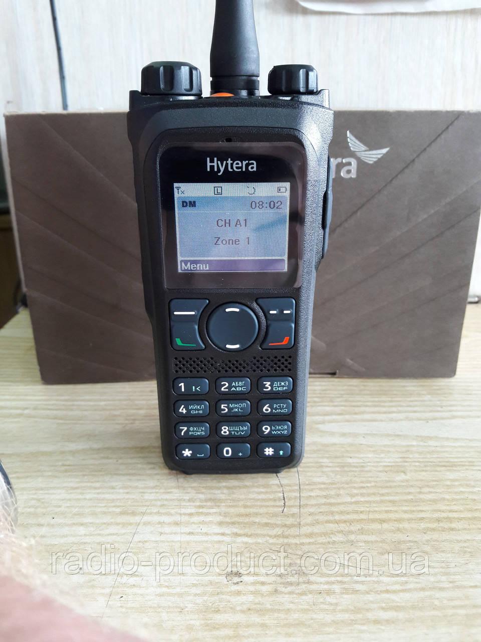 Hytera PD985, аналогово-цифровая радиостанция