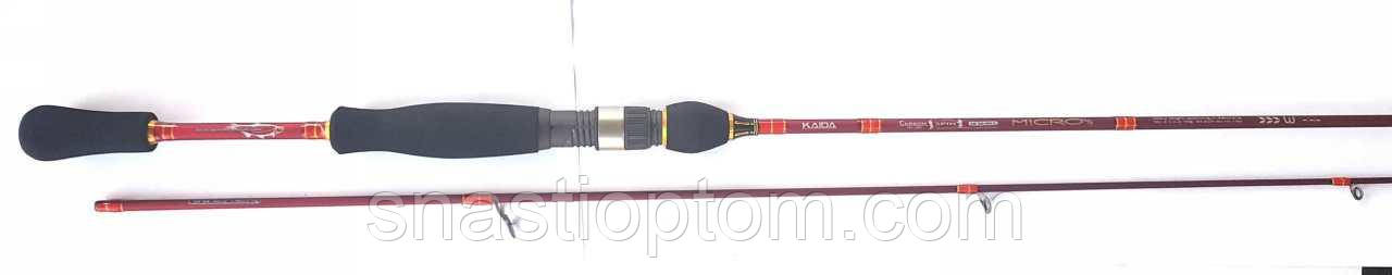 Рыболовный спиннинг Кайда Micro, длина 1.98 м, тест 2-10г