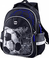 Ортопедический школьный рюкзак для мальчика: цвет черный