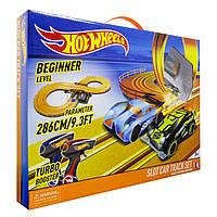 Гоночный трек Hot Wheels 3.80  м на батарейках, фото 1