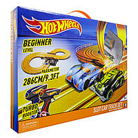 Гоночный трек Hot Wheels 2,86 м на батарейках
