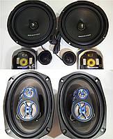 Мощный набор Акустики Megavox 16см Компонентные+Овалы 500 Вт! Новинка!, фото 1