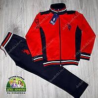 Спортивный костюм для мальчика Polo красный